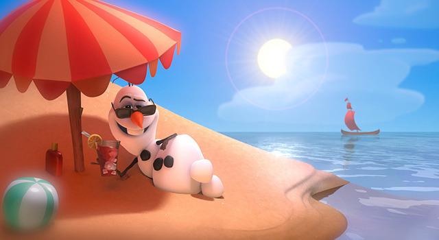 雪だるまのオラフ/『アナと雪の女王』-(C) 2014 Disney. All Rights Reserved.