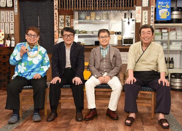 志村けんの呼びかけでドリフ4人が12年ぶりにテレビ共演! 1枚目の写真・画像