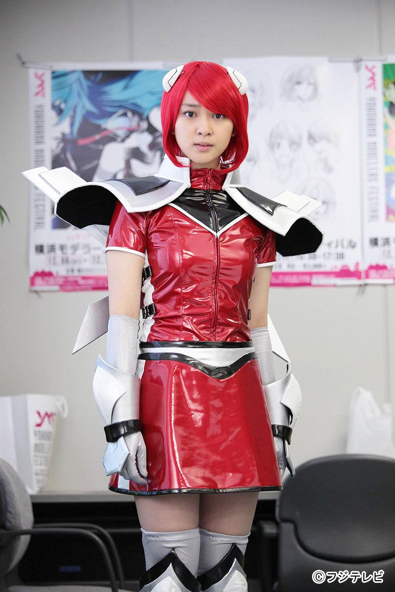 コスプレ姿の武井咲さん