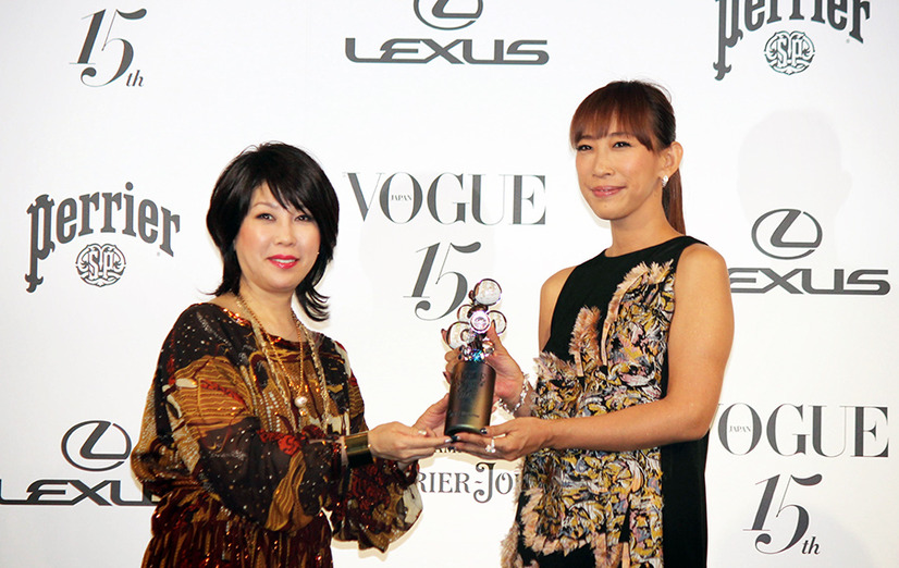 蜷川実花(写真家・映画監督)/「VOGUE JAPAN Women of the Year 2014」&「VOGUE JAPAN Women of Our Time」授賞式