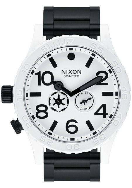 「STAR WARS×NIXON COLLECTION」が登場、The 51-30 Storm trooper White