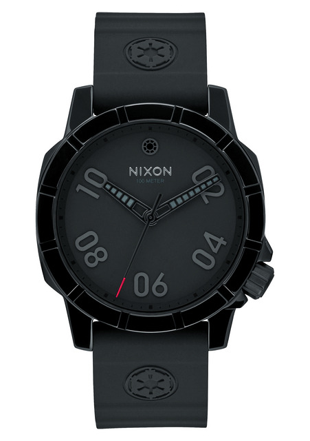 「STAR WARS×NIXON COLLECTION」が登場、The Ranger 40 Imperial Pilot Black