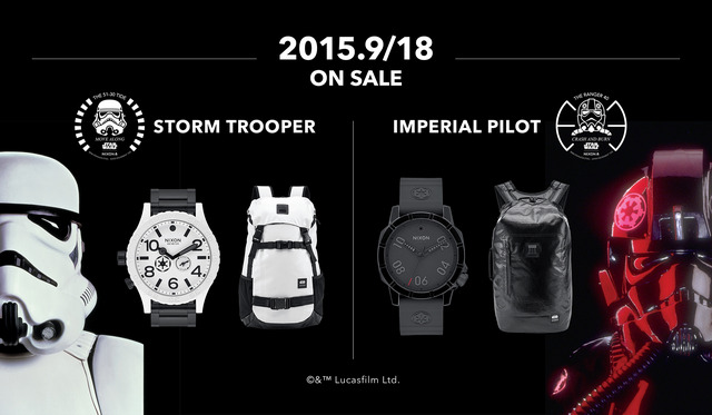 「STAR WARS×NIXON COLLECTION」が登場
