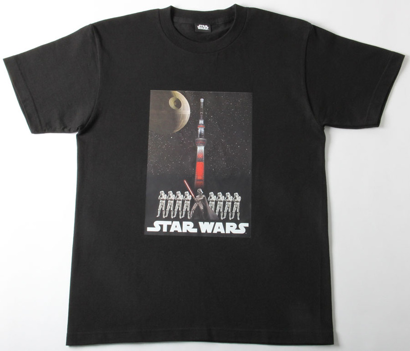 SW/TS Tシャツ Dark side - (C) TOKYO-SKYTREE  - (C) 2015 Lucasfilm Ltd. & TM. All Rights Reserved.