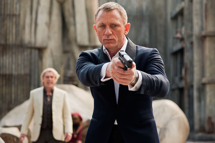 『007 スカイフォール』 - (C) 2015 MGM, Danjaq. Skyfall, 007 Gun Logo and related James Bond Trademarks, TM Danjaq.