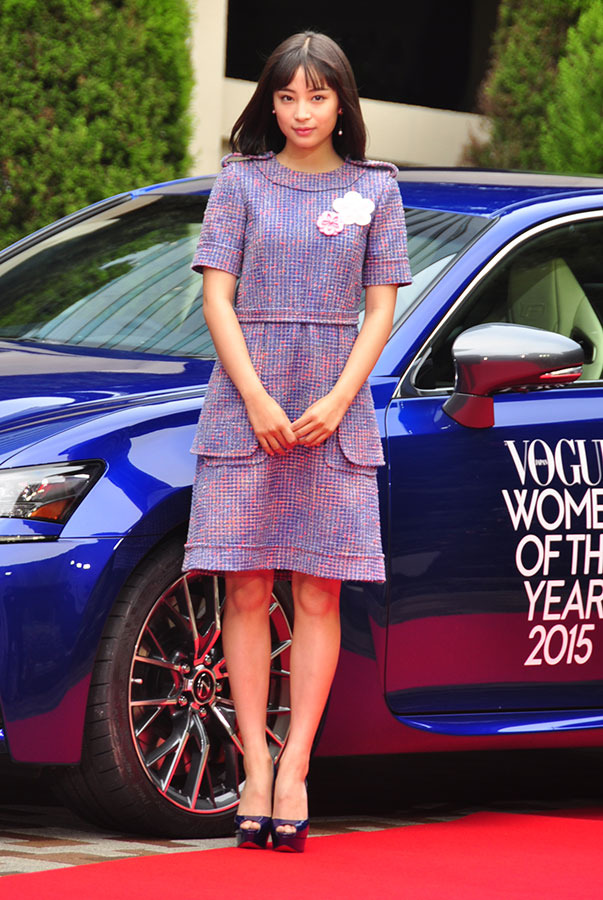 「VOGUE JAPAN Women of the Year 2015」レッドカーペット