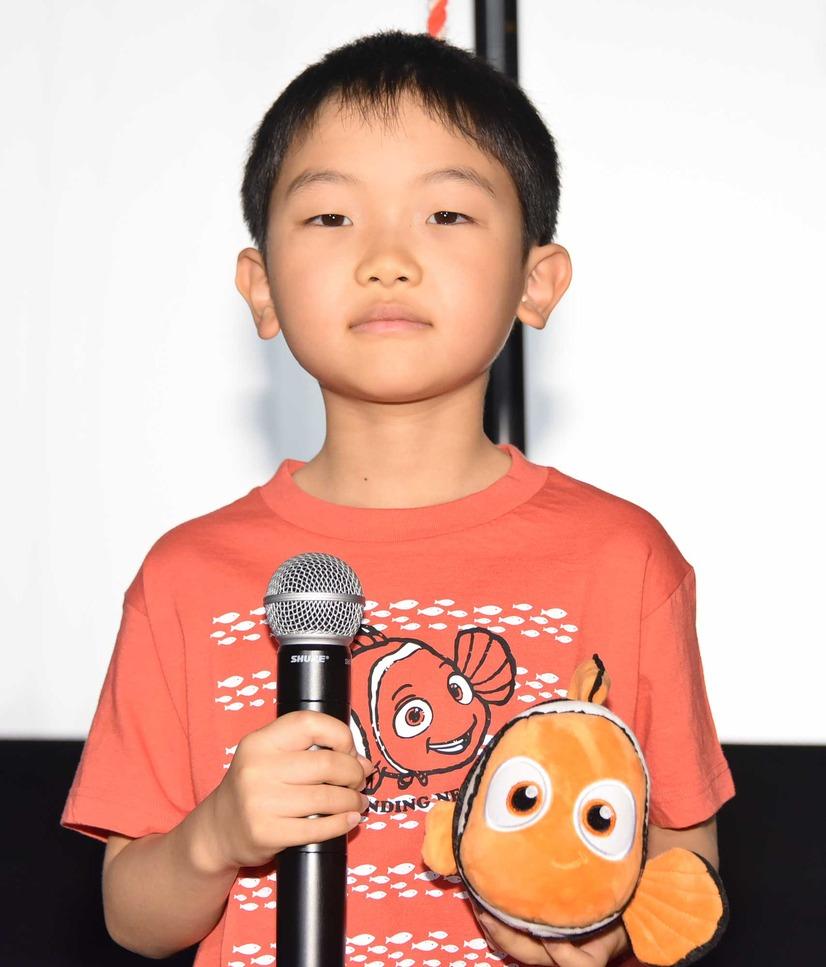 ファインディングドリーでニモを演じる菊地慶