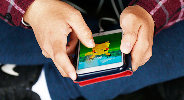 ポケモンGO-(C)Getty Images