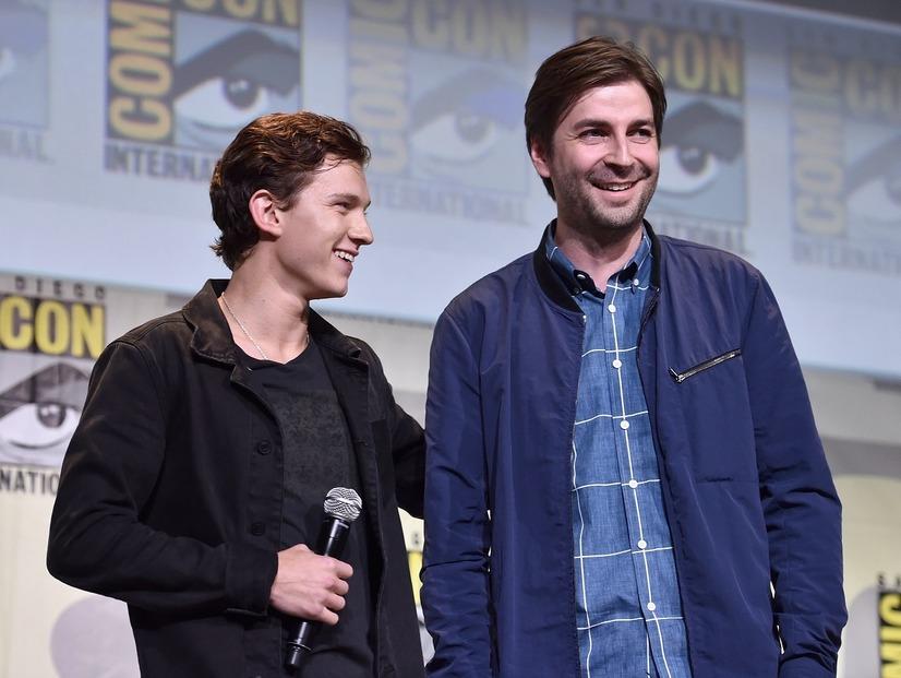 トム・ホランドとジョン・ワッツ『スパイダーマン:... 【画像】『スパイダーマン:ホームカミング