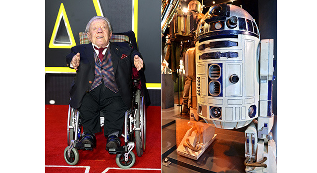 ケニー・ベイカー&R2-D2-(C)Getty Images