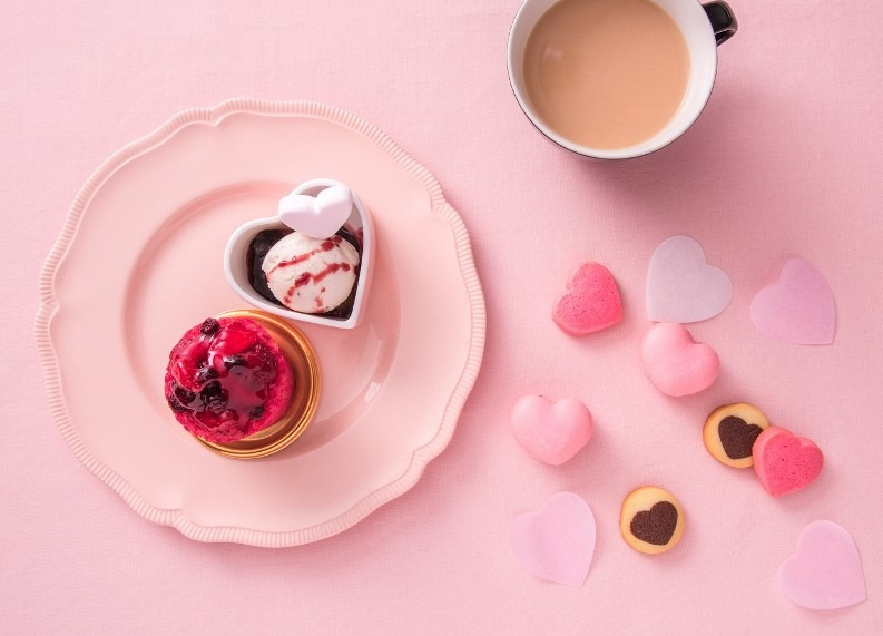 """Happy Heart Afternoon Tea with Haagen-Dazs""3月1日(水)~6月30日(金)まで開催"