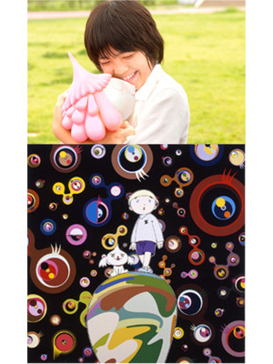 『めめめのくらげ』 -(C) Takashi Murakami/Kaikai Kiki Co., Ltd. All Rights Reserved.