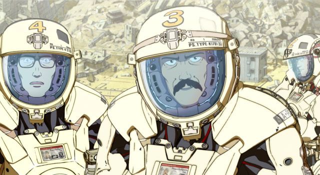 「SHORT PEACE」「武器よさらば」 -(C) SHORT PEACE COMMITTEE -(C) KATSUHIRO OTOMO/MASH・ROOM/SHORT PEACE COMMITTEE