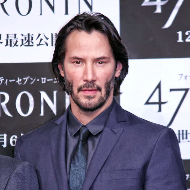 キアヌ・リーヴス『47RONIN』/PHOTO:Ryo Uchida