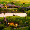 "ホビット庄ナイト・ツアー-(C) ""Hobbiton Movie Set Tours"" for Hobbiton"