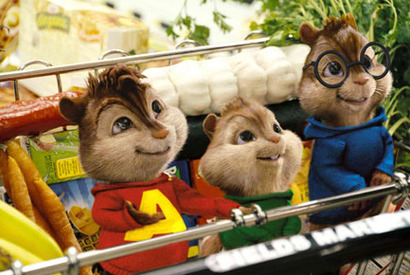 『アルビン/歌うシマリス3兄弟』 Alvin and the Chipmunks Characters TM & -(C) 2007 Bagdasarian Productions, LLC. All rights reserved. -(C) 2007 Twentieth Century Fox Film Corporation.  All rights reserved.