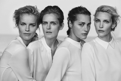 Giorgio Armani New Normal Spring Summer 2016 Advertising Campaign - Peter Lindbergh