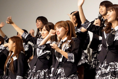 『DOCUMENTARY of AKB48 to be continued』初日舞台挨拶 photo:Yoko Saito