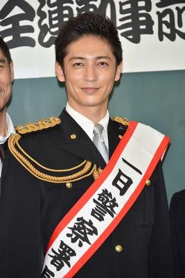 警察役の玉木宏