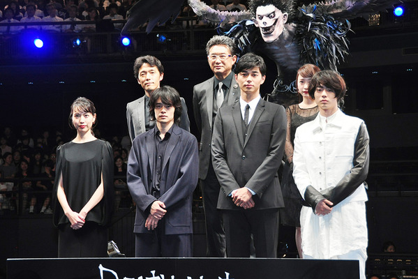 『DEATH NOTE Light up the NEW world』ジャパンプレミア