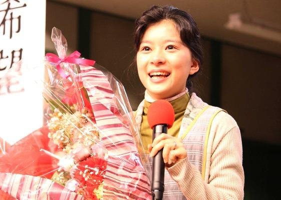 芳根京子/連続テレビ小説「べっぴんさん」クランクアップ