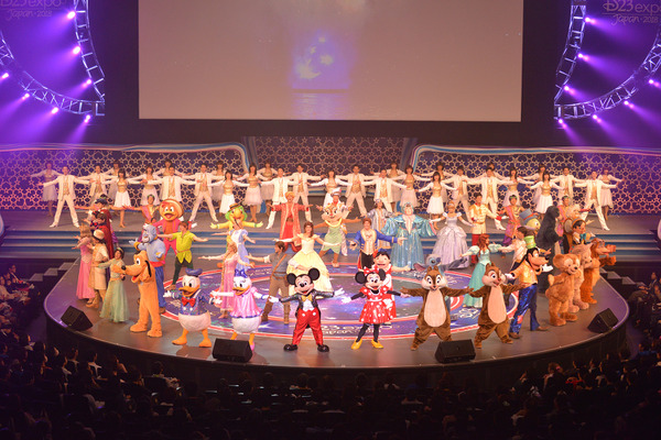 「D23 Expo Japan 2018」の「東京ディズニーリゾート35周年特別記念プログラム」