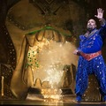 James Monroe Iglehart as Genie in ALADDIN.Photo by Cylla von Tiedemann(C)Disney