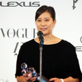 竹内智香(スノーボードアルペン選手)/「VOGUE JAPAN Women of the Year 2014」&「VOGUE JAPAN Women of Our Time」授賞式