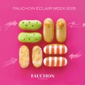 「FAUCHON ECLAIR WEEK CAFE 2015(フォション エクレアウィーク カフェ 2015)」では、「ミニエクレール ポップコーン」や新感覚のアペリティフ ミニエクレアが登場。