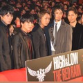 『HiGH&LOW THE RED RAIN』初日舞台挨拶