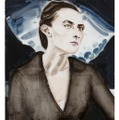「Georgia O'Keeffe after Stieglitz 1918」 2006 カンヴァスに油彩 76.5×58.7cm © Elizabeth Peyton, courtesy Sadie Coles HQ, London; Gladstone Gallery, New York andBrussels; neugerriemschneider, Berlin