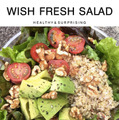 「WISH FRESH SALAD」
