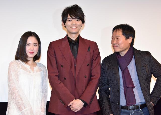 古川雄輝&藤井武美&クァク・ジェヨン監督/『風の色』完成披露試写会
