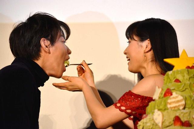 佐藤健&土屋太鳳/『8年越しの花嫁』初日舞台挨拶