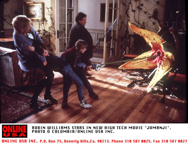 ロビン・ウィリアムズ『ジュマンジ』-(C)Getty Images