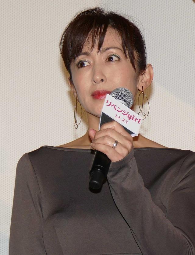 斉藤由貴/『リベンジgirl』初日舞台挨拶
