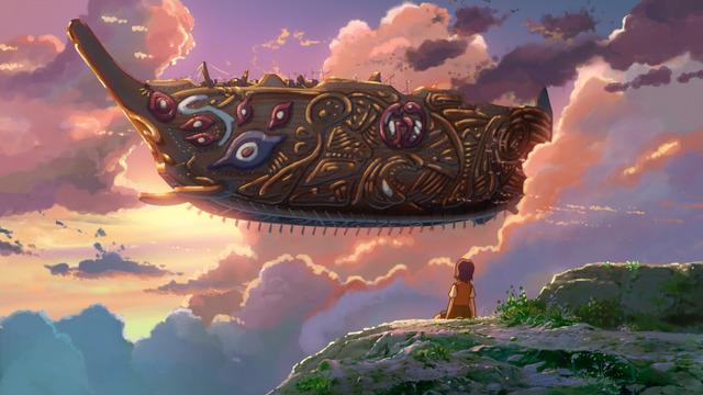 『星を追う子ども』(C) Makoto Shinkai / CMMMY