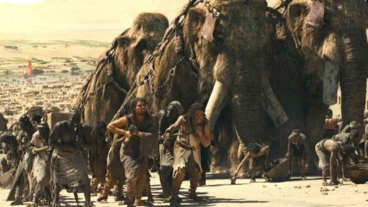 『紀元前1万年』 -(C) 2007 Warner Bros. Entertainment Inc.