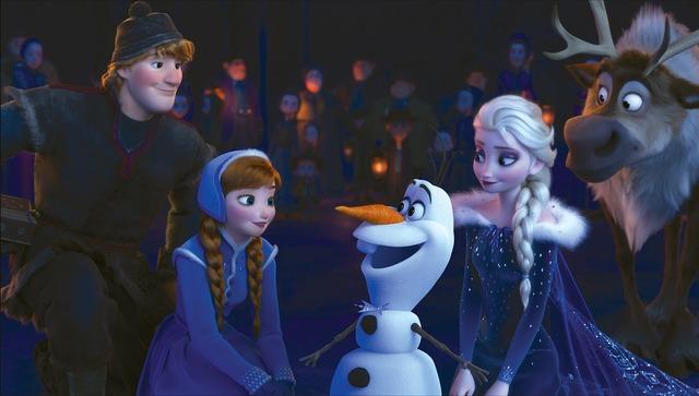 『リメンバー・ミー』同時上映『アナと雪の女王/家族の思い出』(C)2017 Disney/Pixar. All Rights Reserved.(C)2017 Disney. All Rights Reserved.