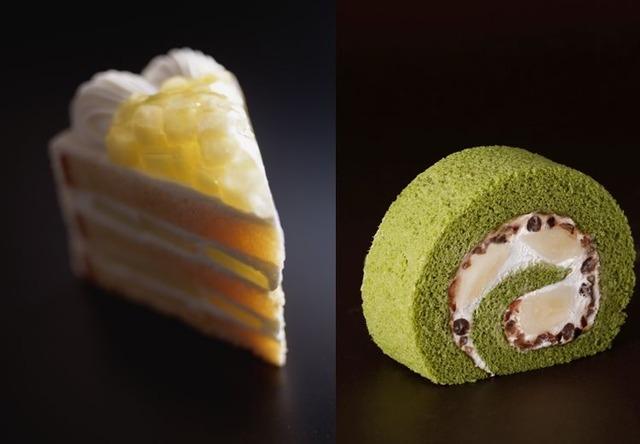 スーパーメロンショートケーキ&新edo抹茶ロール 「サンドウィッチ&あまおうスイーツビュッフェ」