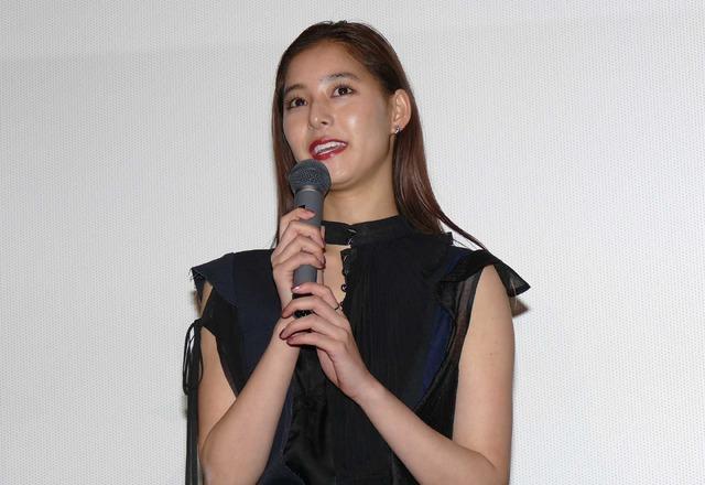 新木優子/『悪と仮面のルール』初日舞台挨拶
