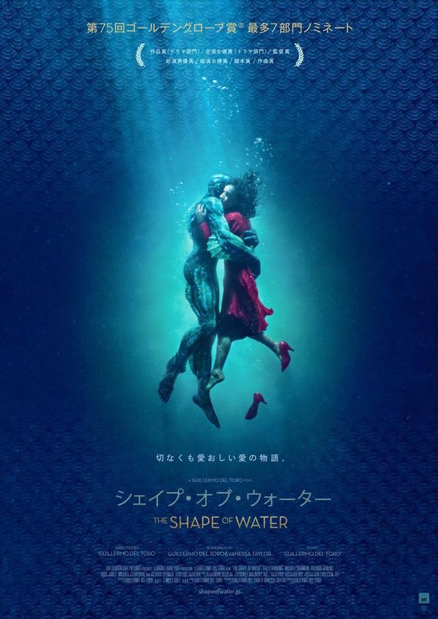 『シェイプ・オブ・ウォーター』 (C)2017 Twentieth Century Fox