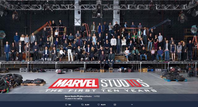 Marvel Studios(@MarvelStudios)Twitterより