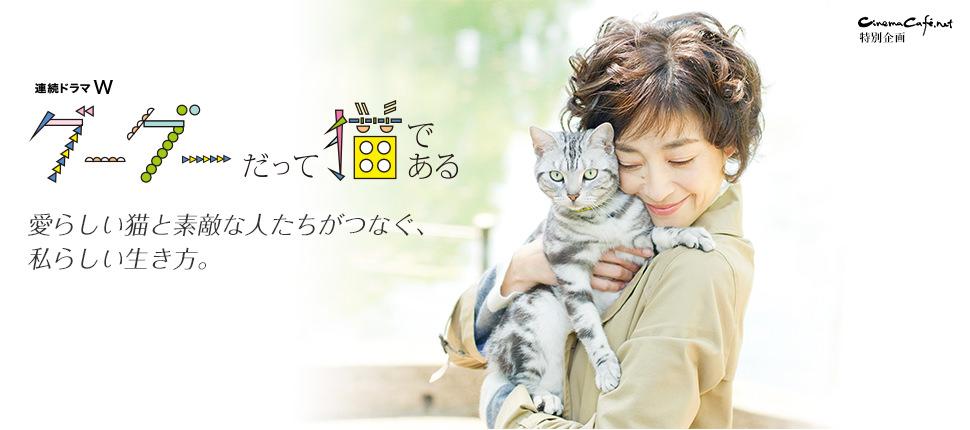WOWOW・連続ドラマW「グーグーだって猫である」