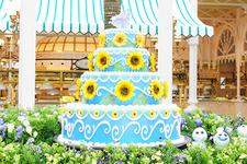 【ディズニー】アナの誕生日をお祝い!『アナ雪』短編モチーフのメニュー&デコ「クリスタルパレス・レストラン」 画像