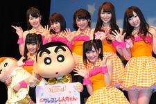 渡辺麻友、クレヨンしんちゃんの「プリプリのお尻が好き!」と告白 画像