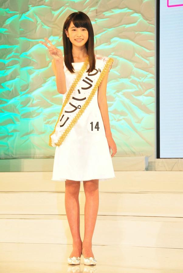 「髙橋ひかる 第14回全日本国民的美少女コンテスト」の画像検索結果