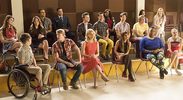 「glee/グリー シーズン5」100話エピソード (C)2014 Twentieth Century Fox Home Entertainment LLC. All Rights Reserved.
