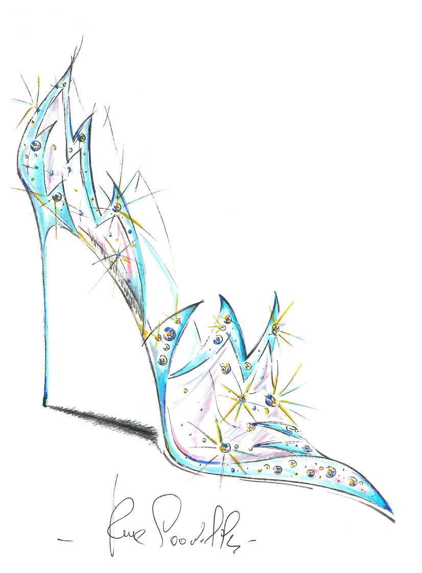 実写版シンデレラガラスの靴を世界的ブランド9社が再現 8枚目