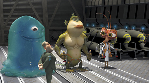 『モンスターVSエイリアン』 -Monsters vs. Aliens (C) 2008 DreamWorks Animation L.L.C.